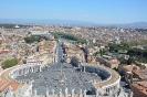 Widok z Kopuły Bazyliki Św. Piotra (Watykan)